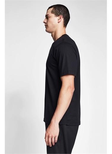 Lescon Siyah Erkek Kısa Kollu T-Shirt 21S-1202-21N Siyah